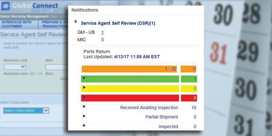 Service Agent Self-Review Process Revision
