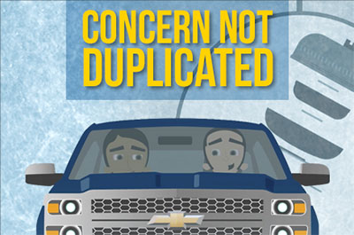 Concern Not Duplicated Warranty Training Video