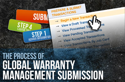 Global Submission Warranty Training Video