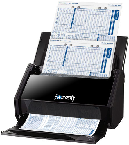 jlwarranty document scanner