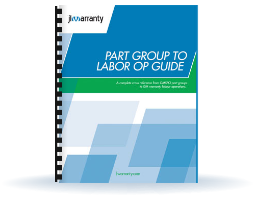 Part Group to Labor Operation Guide