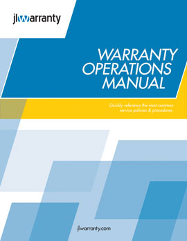 Warranty Operations Manual