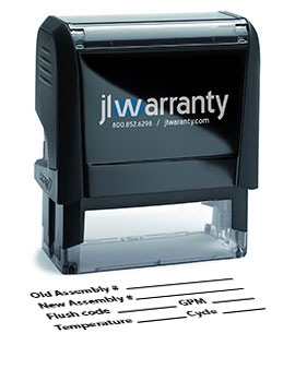 Major Assembly Replacement Warranty Stamp