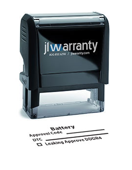 Battery Warranty Stamp