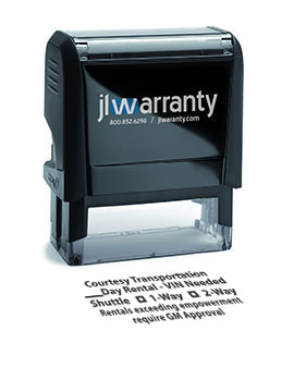 Rental Warranty Stamp