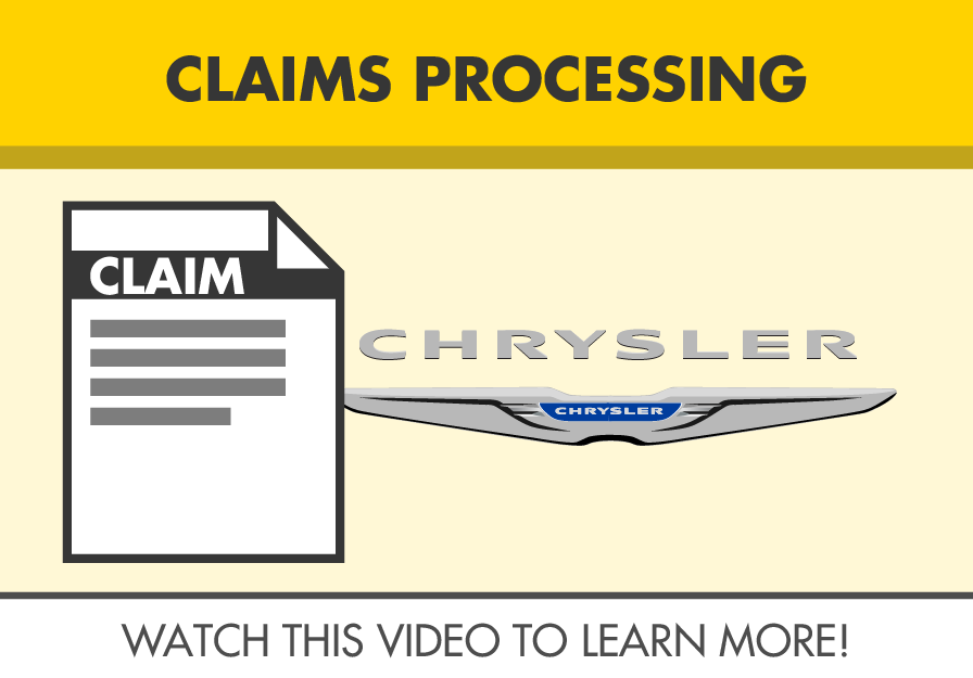jlwarranty claims processing video