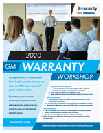 Warranty Workshop Flyer